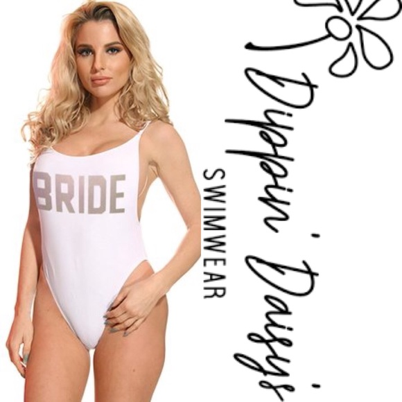 ff00c500c4f7 Dippin Daisy's Swim | Dippin Daisys Bride Womens High Cut One Piece ...